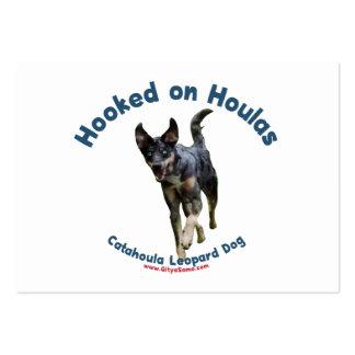 Enganchado en los perros de Houlas Tarjetas De Visita