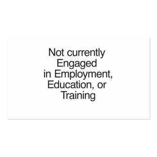 Enganchado no no actualmente a Employment ai Tarjetas Personales