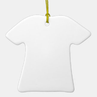 enGAYged Double-Sided T-Shirt Ceramic Christmas Ornament