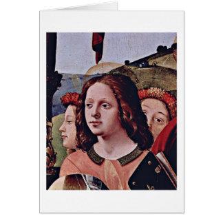 Engel By Piero Di Lorenzo Greeting Card