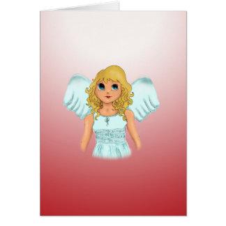 Engel Greeting Card