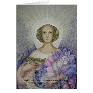 Engel Cathetal Karte Tarjeta De Felicitación
