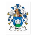 Engel Family Crest Postcards