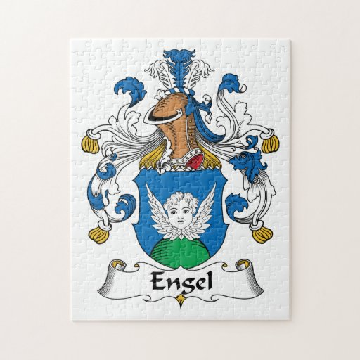 Engel Family Crest Puzzles