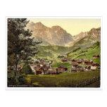 Engelberg Valley and Juchlipass, Bernese Oberland, Postcards