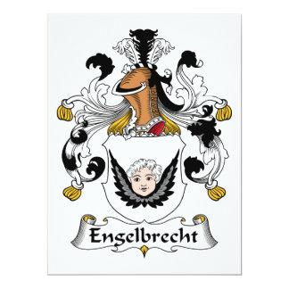 Engelbrecht Family Crest Card