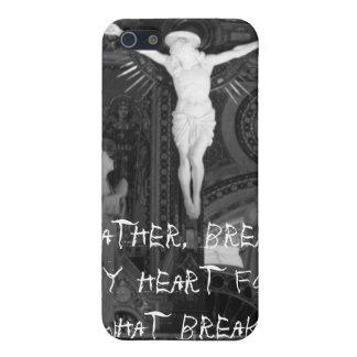 Engendre, rompa mi corazón para qué rotura… iPhone 5 funda