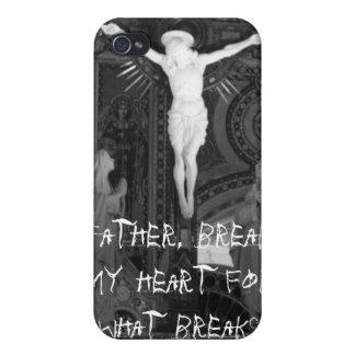 Engendre, rompa mi corazón para qué rotura… iPhone 4 cárcasa