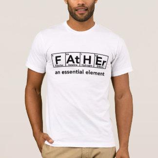 Engendre un día de padre esencial de la camiseta