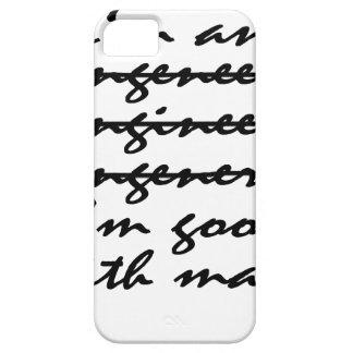 Engeneer Tshirt m.png iPhone SE/5/5s Case
