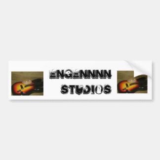 engennnn studios car bumper sticker
