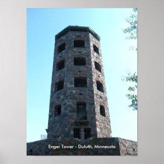 Enger Tower - Duluth Minnesota Print