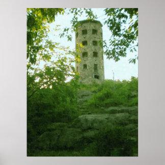 Enger Tower-Oil Paint Print