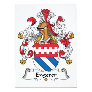 Engerer Family Crest Card