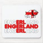 Engerland footy alfombrilla de raton