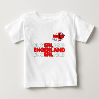 Engerland footy baby T-Shirt