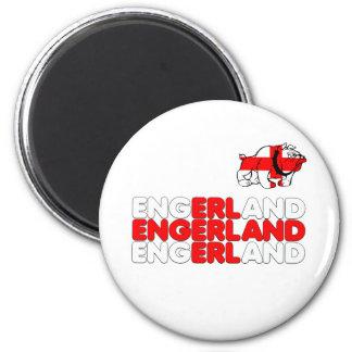 Engerland footy magnet