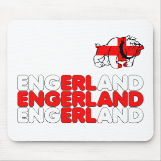 Engerland footy mouse pad