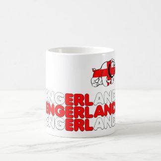 Engerland footy taza de café