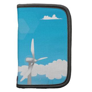 Engery renovable de la turbina de viento planificadores