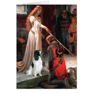 Engilsh Springer 7 - The Accolade Greeting Card