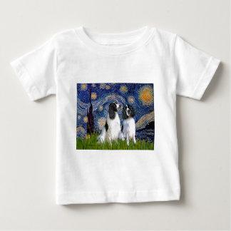 Engilsh Springer Pair - Starry Night T Shirt