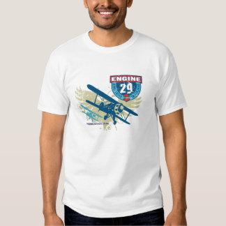 Engine 29 Flight Badge T T-shirt