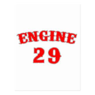 engine 29 postcard