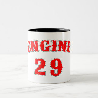 engine 29 Two-Tone coffee mug