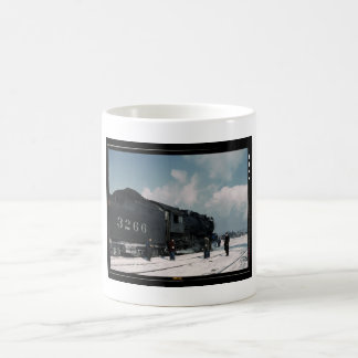 Engine 3266 classic white coffee mug