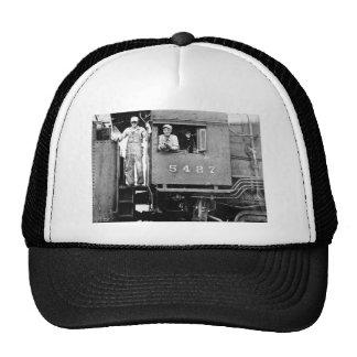 Engine 5427 Vintage Railroad Train Engine Trucker Hat