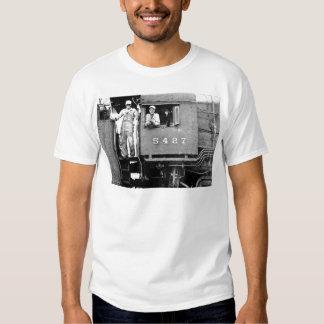 Engine 5427 Vintage Steam Train Locomotive Engine T-Shirt