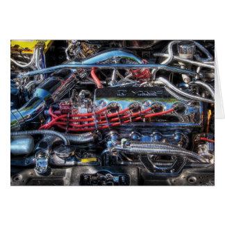 Engine - Car Intestines Card