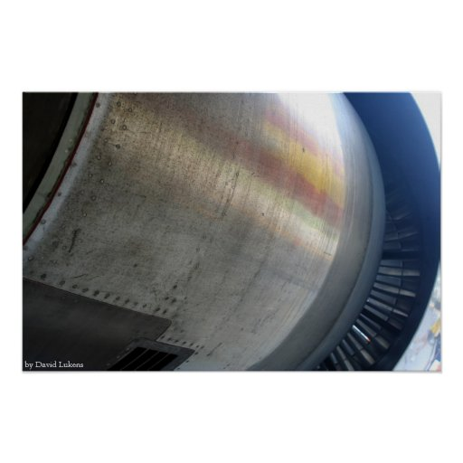 Engine Cowling Poster