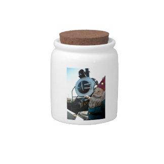 Engine Gnome Candy Dish