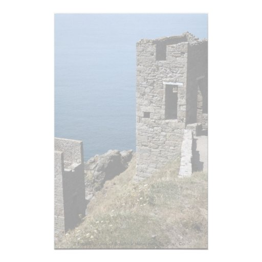 Engine houses of Botallack Mine, near St. Oust, Co Stationery