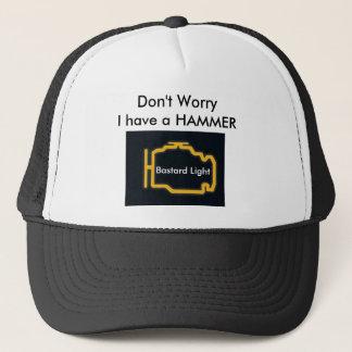 Engine-Light, Don't Worry Trucker Hat