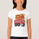 Engine Little Fireman African American Tshirts