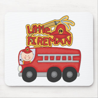 Engine Little Fireman Tshirts and Gifts Mouse Pad