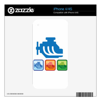 Engine Logo vector Skins For The iPhone 4S