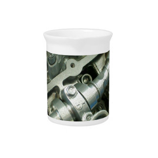 Engine Motor Guts Beverage Pitcher