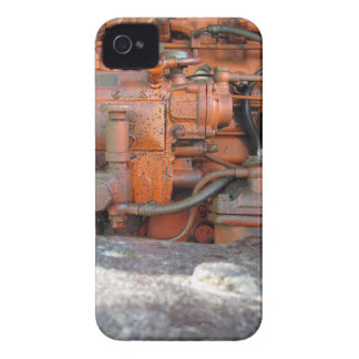 Engine of old italian crawler tractor Case-Mate iPhone 4 case