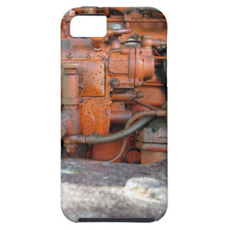 Engine of old italian crawler tractor iPhone SE/5/5s case