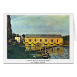 Engine Of The Pump In Marly By Sisley Alfred Cards