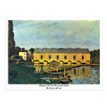 Engine Of The Pump In Marly By Sisley Alfred Post Card