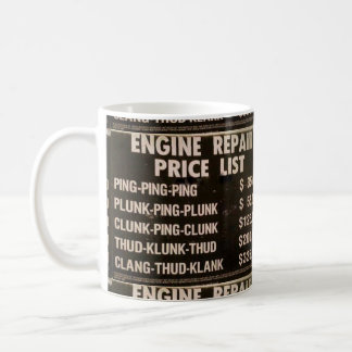 Engine Repair Coffee Mug