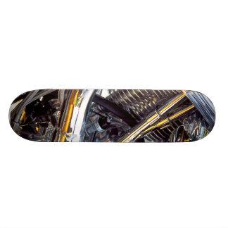 Engine, skateboard