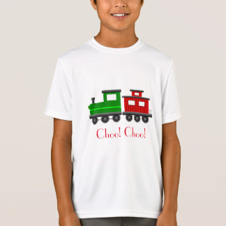 engine train caboose Grandson son track Engineer T-Shirt