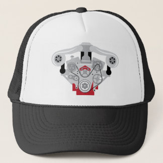 Engine Twin Turbo Vector Trucker Hat