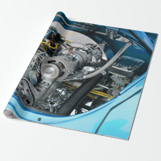 Engine Wrapping Paper